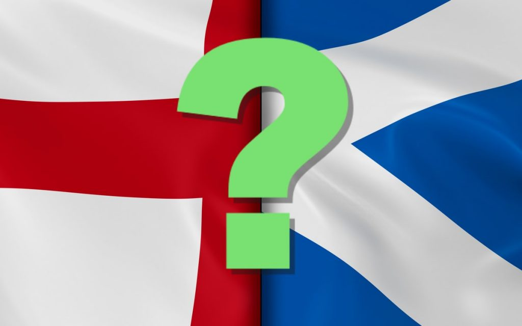 do we buy property to let in England or Scotland